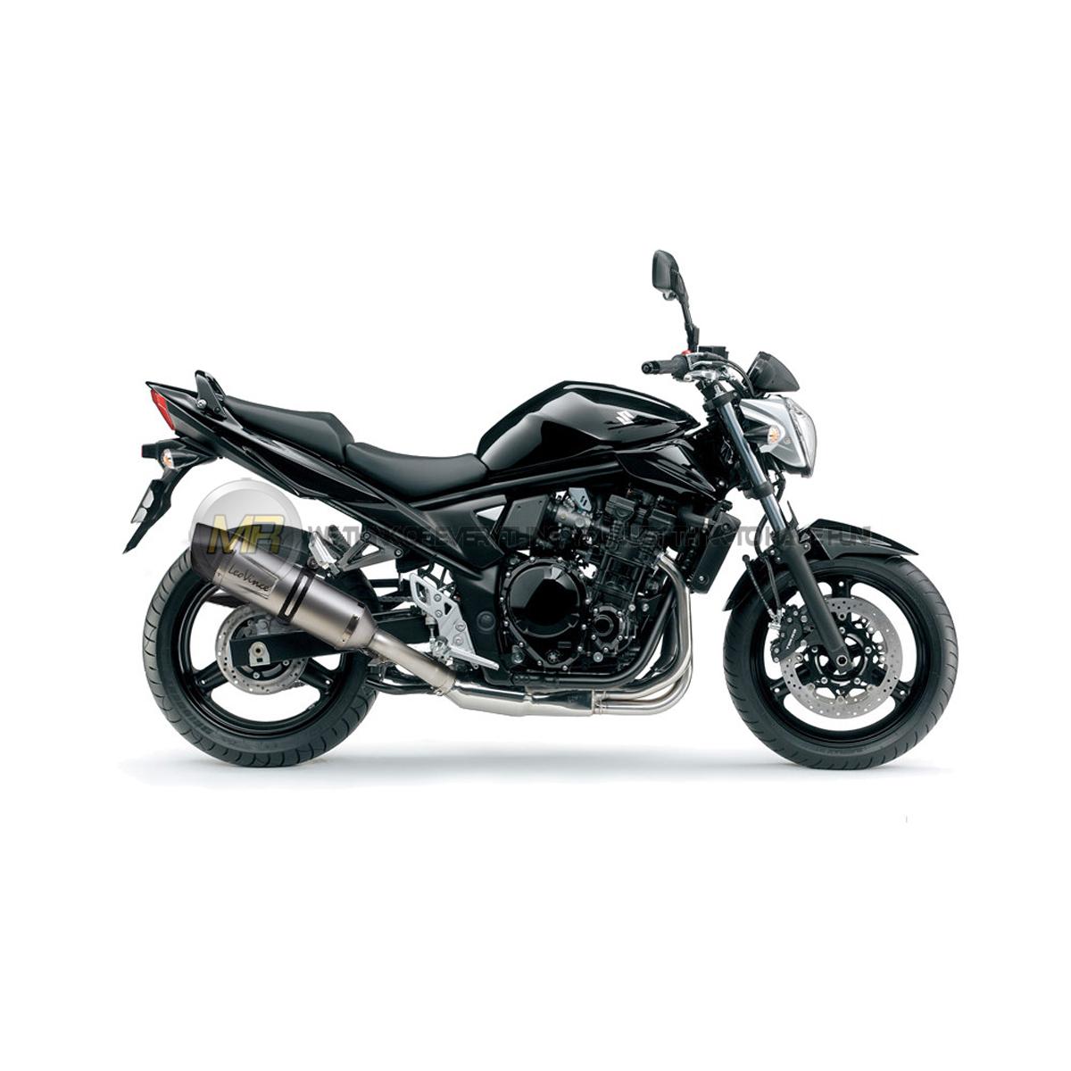 Suzuki Gsf 650 Bandit 2007 To 2015 Exhaust Slip On Silencer Leovince Lv One E Ebay