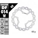 DF014W - DISCO FRENO FISSO WAVE 240x3mm HONDA CR/CRF -2014 ANTERIORE