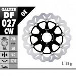 DF027CW - DISCO FRENO FLOTTANTE WAVE COMPLETO (C. ALU.) 296x5mm HONDA RS 250/CBR 600 ANTERIORE