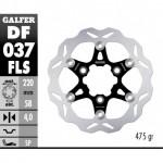 DF037FLS - DISCO FRENO FLOTTANTE WAVE MAGGIORATO (C. STEEL) 220x4mm SYM SCOOTER ANTERIORE