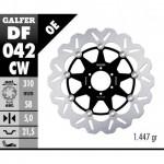 DF042CW - DISCO FRENO FLOTTANTE WAVE COMPLETO (C. ALU.) 310x5mm HONDA CBR 1100 XX ANTERIORE