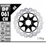 DF061CW - DISCO FRENO FLOTTANTE WAVE COMPLETO (C. ALU.) 296x5mm DF HONDA CB 900 HORNET (01)ANTERIORE