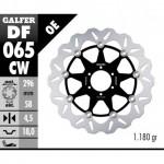 DF065CW - DISCO FRENO FLOTTANTE WAVE COMPLETO (C. ALU.) 296x5mm HONDA VTR 250 (98) ANTERIORE