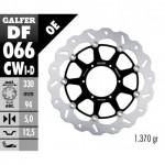 DF066CWD - DISCO FRENO FLOTTANTE WAVE COMPLETO DESTRA (C. ALU.) 330x5m HONDA CBR 900 RR (00-03)ANTERIORE