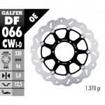 DF066CWI - DISCO FRENO FLOTTANTE WAVE COMPLETO SINISTRA (C. ALU.) 330x5mm HONDA CBR 900 RR (00-03) ANTERIORE