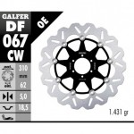 DF067CW - DISCO FRENO FLOTTANTE WAVE COMPLETO (C. ALU.) 310x5mm HONDA CB 1100X ANTERIORE