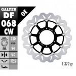 DF068CW - DISCO FRENO FLOTTANTE WAVE COMPLETO (C. ALU.) 320x5mm HONDA CBR 1000 RR 06-07 ANTERIORE