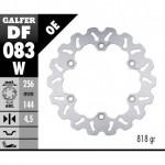 DF083W - DISCO FRENO FISSO WAVE 256x4,5mm HONDA SH SCOOPY 300 ( & ) ANTERIORE