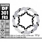 DF301FRS - DISCO FRENO FLOTTANTE WAVE MAGGIORATO SCANALATO (C. STEEL) 270 YAMAHA YZ / YZF -2015 ANTERIORE