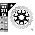 DF321CW - DISCO FRENO FLOTTANTE WAVE COMPLETO (C. ALU.) 300x5mm SUZUKI RGV 250 ANTERIORE