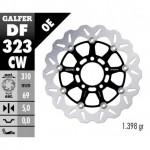 DF323CW - DISCO FRENO FLOTTANTE WAVE COMPLETO (C. ALU.) 310x5mm SUZUKI SV 1000 S (03) ANTERIORE