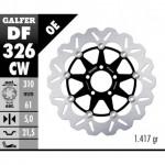 DF326CW - DISCO FRENO FLOTTANTE WAVE COMPLETO (C. ALU.) 310x5mm DF SUZUKI GSX R100 87 ANTERIORE