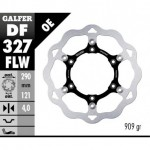DF327FLW - DISCO FRENO FLOTTANTE WAVE (C. STEEL) 290x4mm SUZUKI DR 650 ANTERIORE