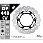 DF448CW - DISCO FRENO FLOTTANTE WAVE (C. ALUM.) 298x4,5mm YAMAHA XT 660 ANTERIORE