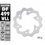 DF499WLL - DISCO FRENO FISSO WAVE SOLIDO 243,5x4mm YAMAHA YZ WR (02) POSTERIORE