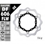 DF606FLW - DISCO FRENO FLOTTANTE WAVE (C. STEEL) 260x3,2mm KTM & HUSQVARNA OFF-ROAD ANTERIORE