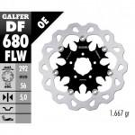 DF680FLW - DISCO FRENO FLOTTANTE WAVE (C. STEEL) 292x5mm HARLEY DAVIDSON ANTERIORE