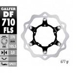 DF710FLS - DISCO FRENO FLOTTANTE WAVE MAGGIORATO (C. STEEL) 270x3mm BMW G450X (08) ANTERIORE