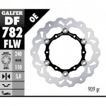 DF782FLW - DISCO FRENO FLOTTANTE WAVE (C. STEEL) 240x5mm KTM 990 ADVENTURE/S (06) POSTERIORE