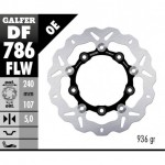 DF786FLW - DISCO FRENO FLOTTANTE WAVE (C. STEEL) 240x5mm KTM 690 SMR (08) POSTERIORE