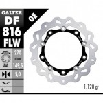 DF816FLW - DISCO FRENO FLOTTANTE WAVE (C. STEEL) 270x5mm BMW C 600 SPORT / C 650 GT ( & ) ANTERIORE