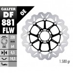 DF881FLW - DISCO FRENO FLOTTANTE WAVE (C. STEEL) 320x4,5mm BENELLI TRE-K LIGHT ANTERIORE