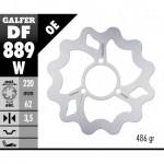 DF889W - DISCO FRENO FISSO WAVE 220x3,5mm HM MOTO CRE 50 (02) POSTERIORE