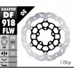 DF918FLW - DISCO FRENO FLOTTANTE WAVE COMPLETO (C. STEEL) 310x5,5mm TRIUMPH BONNEVILLE / SPEEDMASTER ANTERIORE