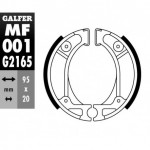 MF001G2165 - GANASCE FRENO GZ 001-HONDA POSTERIORE