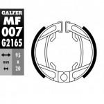 MF007G2165 - GANASCE FRENO GZ 007-HONDA POSTERIORE