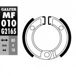 MF010G2165 - GANASCE FRENO GZ 010-HONDA POSTERIORE