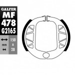 MF478G2165 - GANASCE FRENO GZ 478-YAMAHA 125 CYGNUS / 125 BW,S POSTERIORE