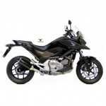 14009 - EXHAUST SLIP-ON LEOVINCE NERO STAINLESS STEEL APPROVED