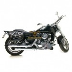 2286 - FULL SYSTEM EXHAUST SILVERTAIL K02 CHROMED STEEL APPROVED