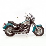 2207 - FULL SYSTEM EXHAUST SILVERTAIL K02 CHROMED STEEL APPROVED