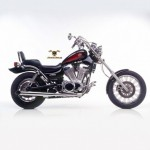 2203 - EXHAUST SLIP-ON SILVERTAIL K02 CHROMED STEEL APPROVED