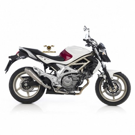 8207 - EXHAUST SLIP-ON LEOVINCE GP STYLE STAINLESS STEEL APPROVED