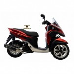 14027 - EXHAUST SLIP-ON LEOVINCE NERO STAINLESS STEEL APPROVED