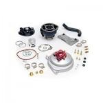 9911080 - Coperchio volano completo, Kit trasformazione da aria ad acqua per motori Minarelli/Yamaha. Compatibile con 9911090.
