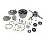 9926560 - Gruppo termico 50 Maxi Kit TPR per motori scooter 50cc Minarelli/Yamaha liquid cooled corsa 44