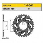 1-1041-39 - Corona in Acciaio Sunstar passo 420 con 39 denti