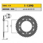 1-1390-50 - Corona in Acciaio Sunstar passo 420 con 50 denti