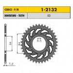 1-2132-53 - Corona in Acciaio Sunstar passo 428 con 53 denti