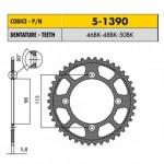 5-1390-46BK - Corona in Ergal Sunstar passo 420 con 46 denti