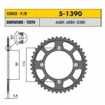 5-1390-50OR - Corona in Ergal Sunstar passo 420 con 50 denti