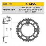 5-1456-54BK - Corona in Ergal Sunstar passo 420 con 54 denti