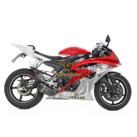 8482S - FULL SYSTEM EXHAUST LEOVINCE FACTORY S CARBON FIBER 4/2/1 APPROVED