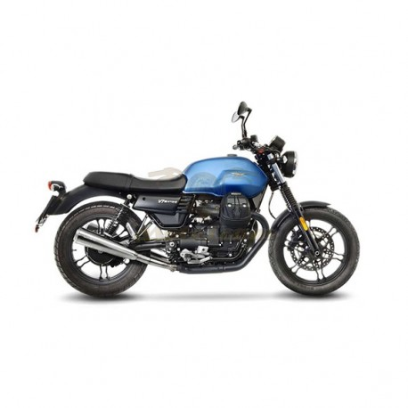 15000K - EXHAUSTS SLIP-ON LEOVINCE CLASSIC RACER STAINLESS STEEL APPROVED