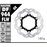 DF944FLW - DISCO FRENO FLOTTANTE WAVE (C. STEEL) 260x5mm KTM 790 ADVENTURE POSTERIORE